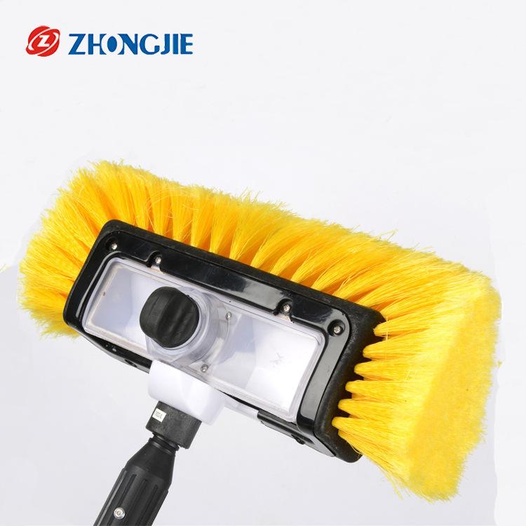 ZHONGJIE bàn chải sáp Nhà máy trực tiếp bán 2 thanh nhôm PVC chải tóc năm mặt với xà phòng rửa xe cọ