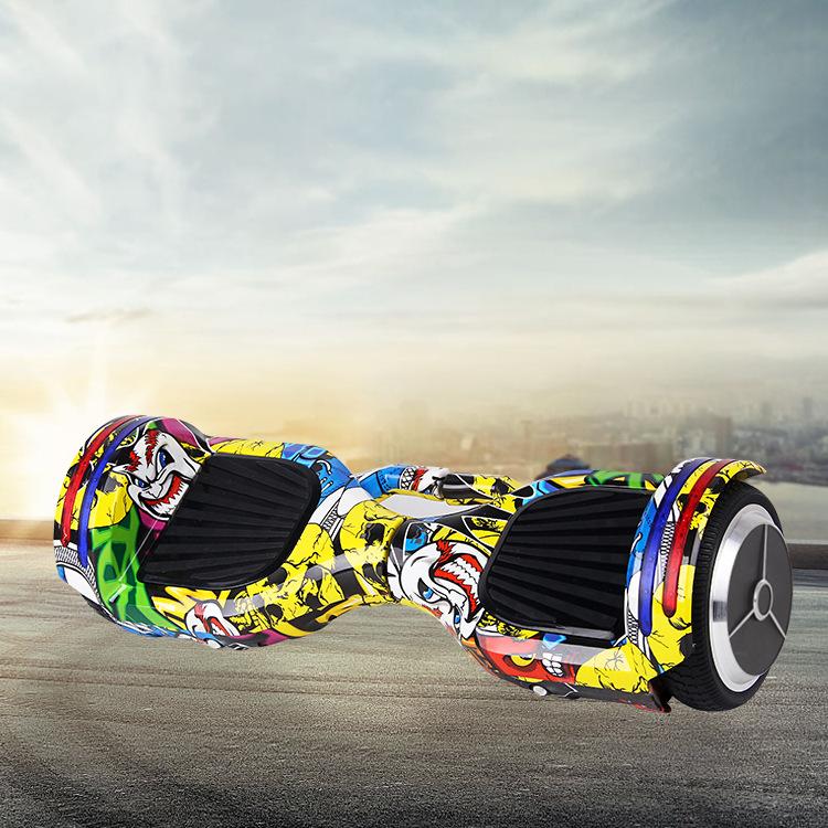 LVKE Xe điện 2 bánh tự cân bằng Cân bằng thông minh Xe đạp trẻ em Suy nghĩ Somatosensory Xe tay ga H