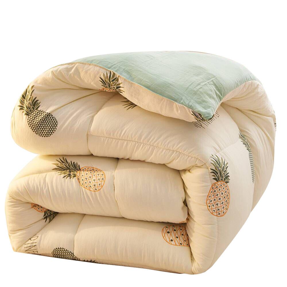 Mền sợi tổng hợp Giá trị Yan đại diện cho chăn bông mùa đông mới bảy sợi lông vũ sợi lông là ấm áp t