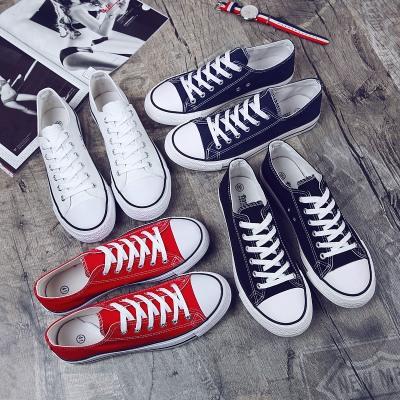 giày vải Bán buôn giày nam mùa xuân giày vải thông thường giày nam xu hướng giày vải sinh viên Hàn Q