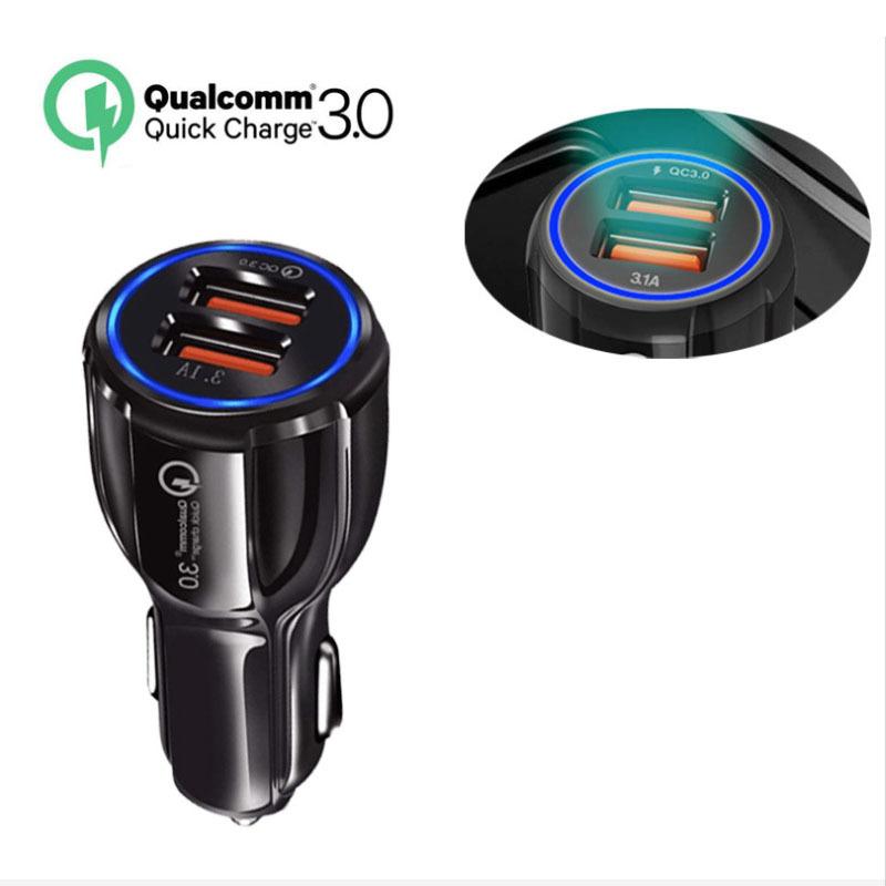 SJ Đầu cắm sạc xe hơi Sạc xe hơi mới qc3 0 sạc xe hơi sạc xe hơi qc3.0 sạc nhanh điện thoại di động