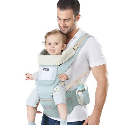 Đai cõng bé Baby Carrier Baby Eo Stool Bốn mùa Đa năng Đa năng Giữ trước Nhẹ và Phân sau Giữ Baby Ar