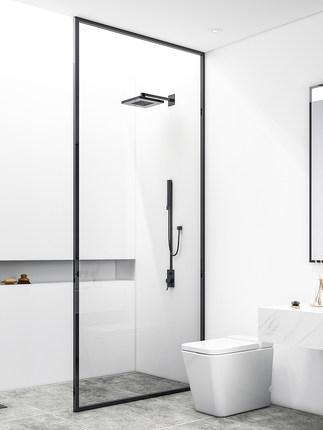 Xinhai Bồn đứng tắm  Galan tổng thể phòng tắm phân vùng ướt và khô tách phòng tắm bằng thép không gỉ