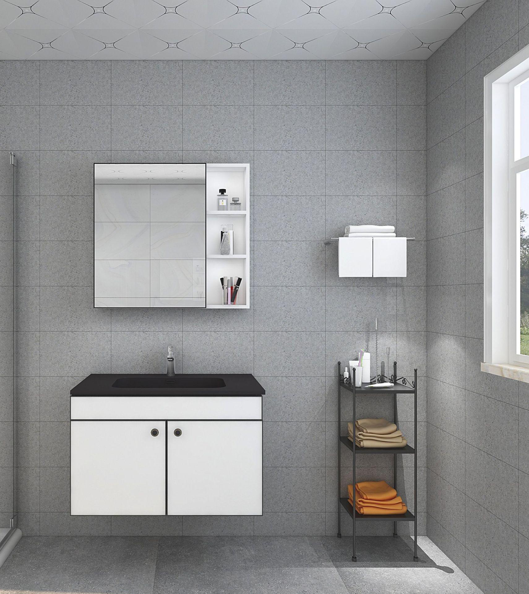 BAOJIALI Tủ phòng tắm Nhà máy tùy chỉnh nhôm phòng tắm tủ giặt tủ ban công