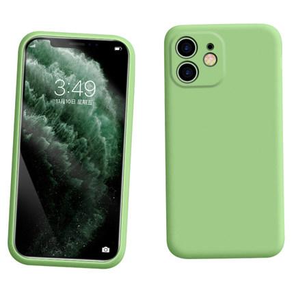 BONGOGO bao da điện thoại Ốp lưng điện thoại di động Apple 11 bao gồm toàn bộ ống kính bảo vệ silico