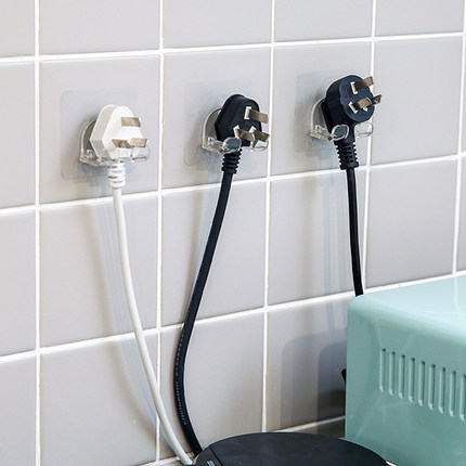 Móc dán tường treo dây điện đa năng .
