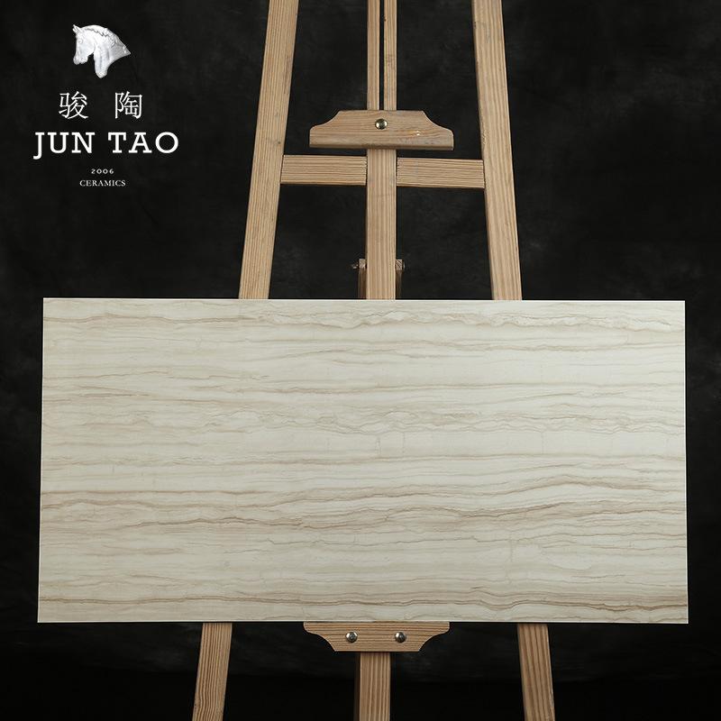 JUNTAO Gạch men sứ Chun Tao gốm 400 * 800MM tấm trung bình gốm gốm lát sàn đá cẩm thạch gạch ốp tườn
