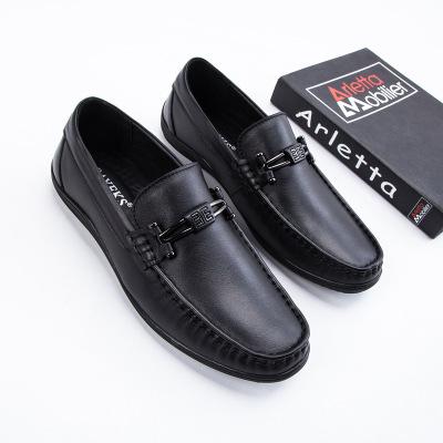 Giày mọi Gommino 2020 mùa xuân mới chính hãng giày da nam đế xuồng giày đế mềm và thoải mái