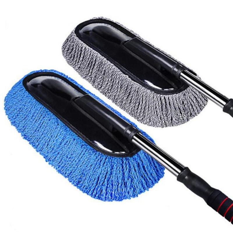 ZEXING bàn chải sáp Tháo gỡ có thể thu vào và rửa bàn chải sáp xe Sáp sáp sáp cho rửa xe Bàn chải sá