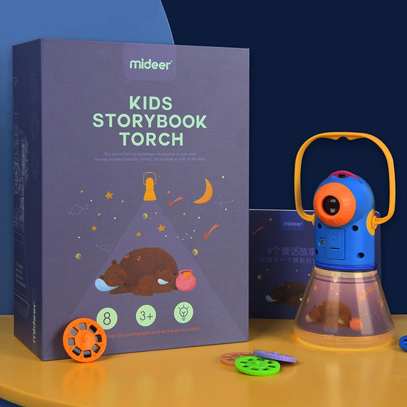 MILU Đồ chơi sáng tạo Milu câu chuyện đa chức năng máy chiếu trẻ em bầu trời đầy sao ngủ đêm ánh sán