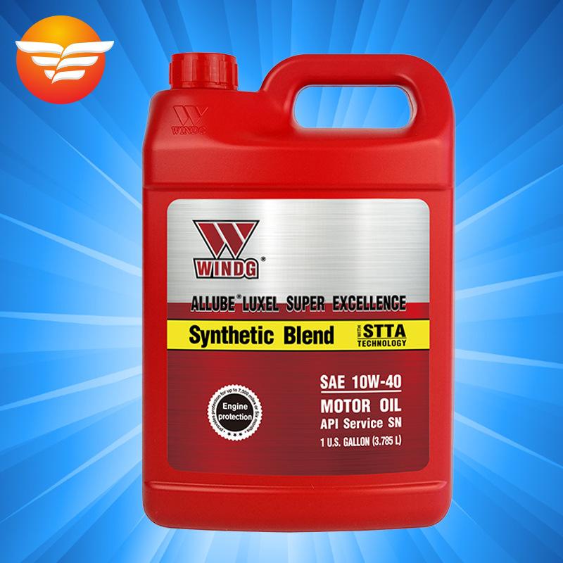 WINDG nhớt Dầu Vickers WINDG SE 10W-40 bán tổng hợp nhập khẩu từ dầu động cơ ô tô Hoa Kỳ