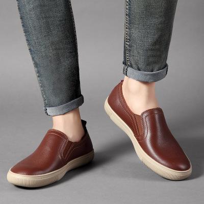 Giày Loafer / giày lười Giá xuất xưởng Bán buôn phiên bản Hàn Quốc của giày da đế giày mới giày đế x