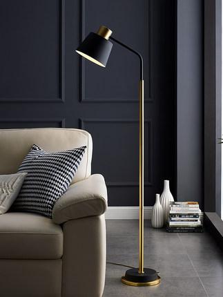 Đèn âm đất  Trên sàn nhà phòng khách phòng ngủ Bắc Âu nghiên cứu trong ánh sáng tối giản sang trọng