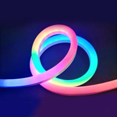 TRX Đèn LED dây Bảo hành 3 năm Đèn LED neon với 5050RGB Symphony ngoài trời IP67 Nhân vật phát sáng