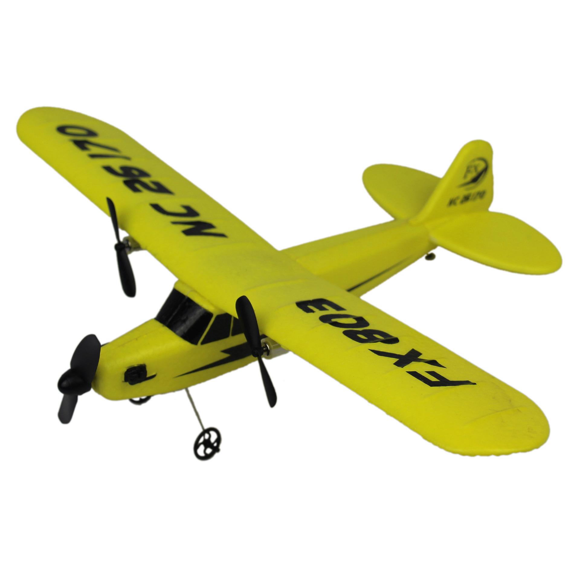 JDRC Máy bay điều khiển từ xa 2.4G hai chiều Máy bay bọt xốp FX804 Máy bay điều khiển từ xa cánh cố