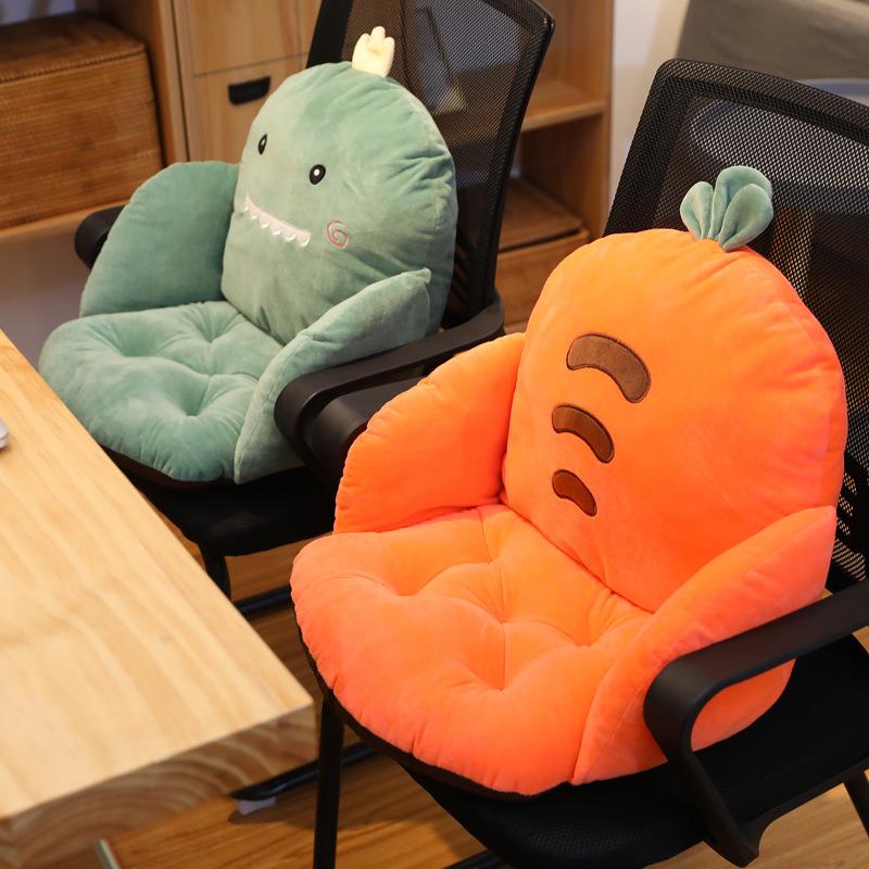 DAIDAIWU Gối tựa lưng Ghế sofa trái cây đệm đệm tích hợp mùa đông sang trọng dày văn phòng đẹp hông