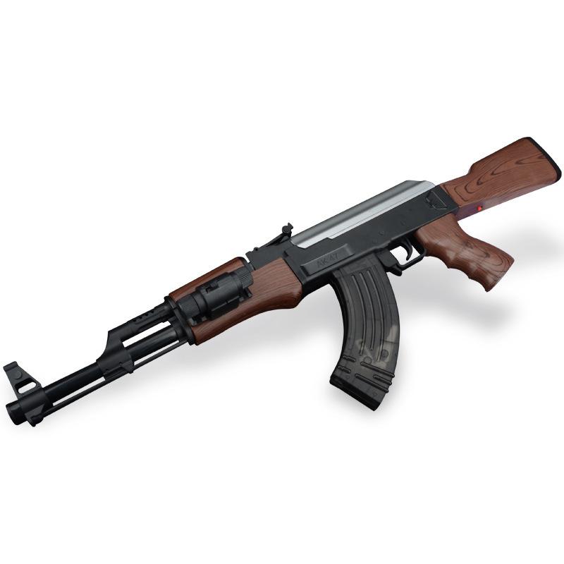 BY-LC ROCSON Electric Lianfa Water Shotgun AK47 Water Shot Toy Gun for Children Simulation Toy Gun W