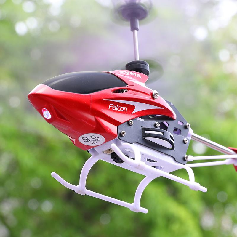 SYMA Máy bay điều khiển từ xa Sima Hangmo W25 RC Máy bay trực thăng siêu thả trẻ em Đồ chơi điện Đồ