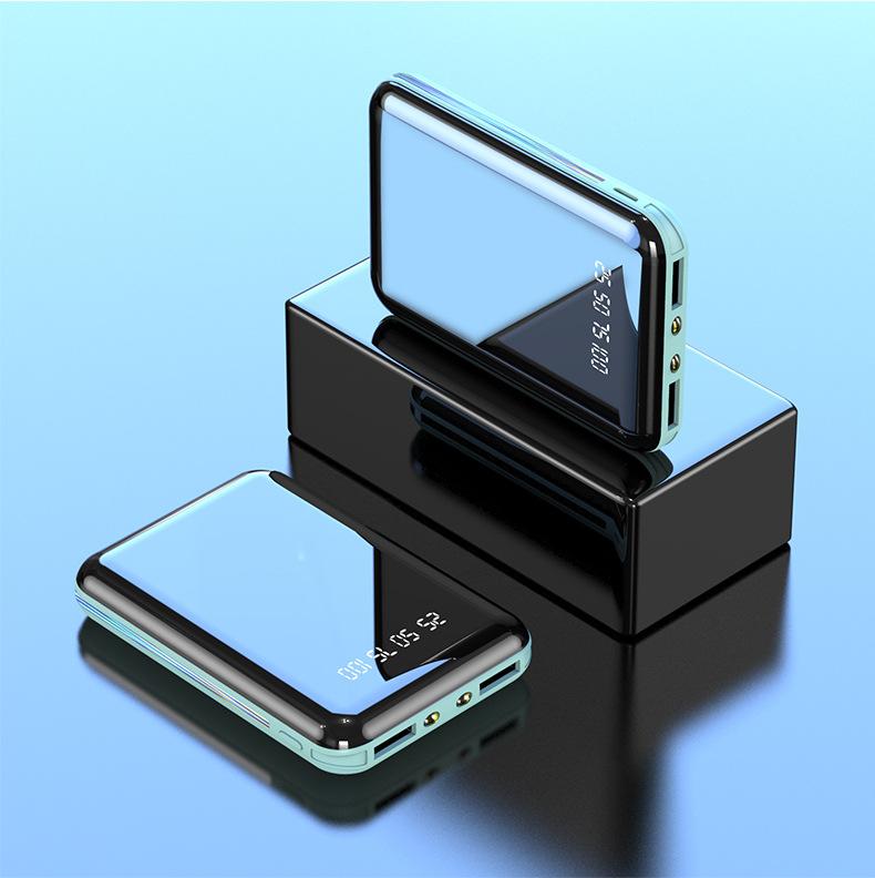 MAKALONG Pin sạc dự bị Gương mini cung cấp năng lượng di động Tùy chỉnh quà tặng của công ty Hiển th