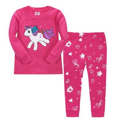 phoebe cat Đồ ngủ trẻ em Cô gái mùa thu và phong cách mới, đồ ngủ trẻ em, bộ đồ phục vụ tại nhà, bán