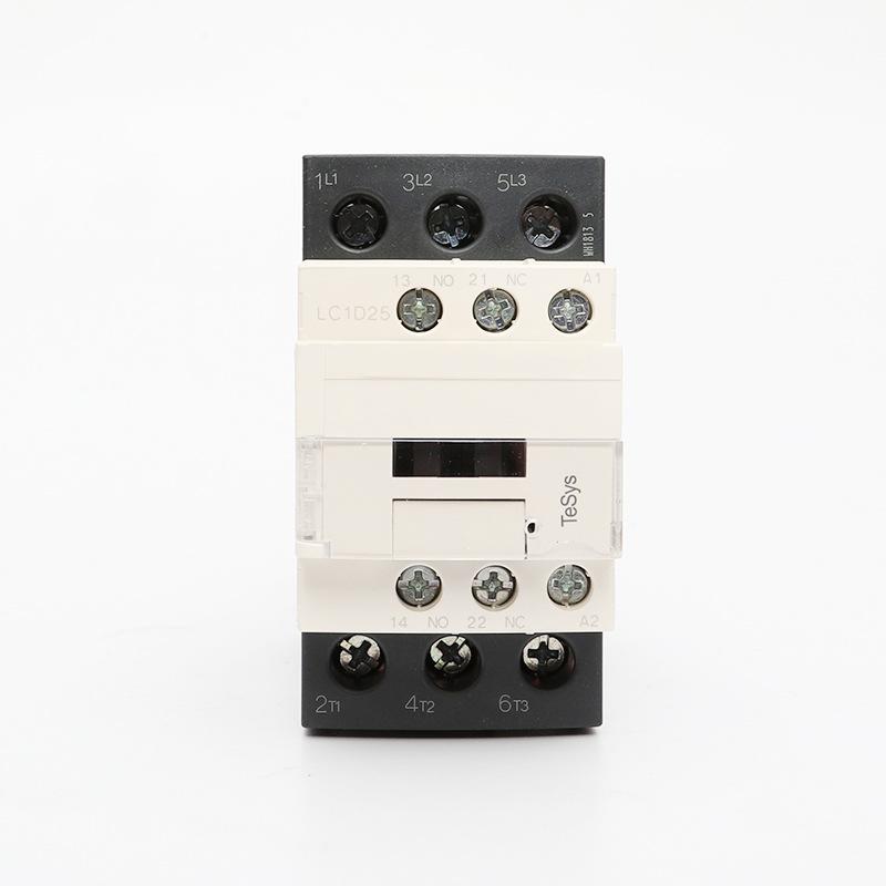 Bộ điều khiển động cơ contactor điện áp thấp ba cực 9A-95A LC1D