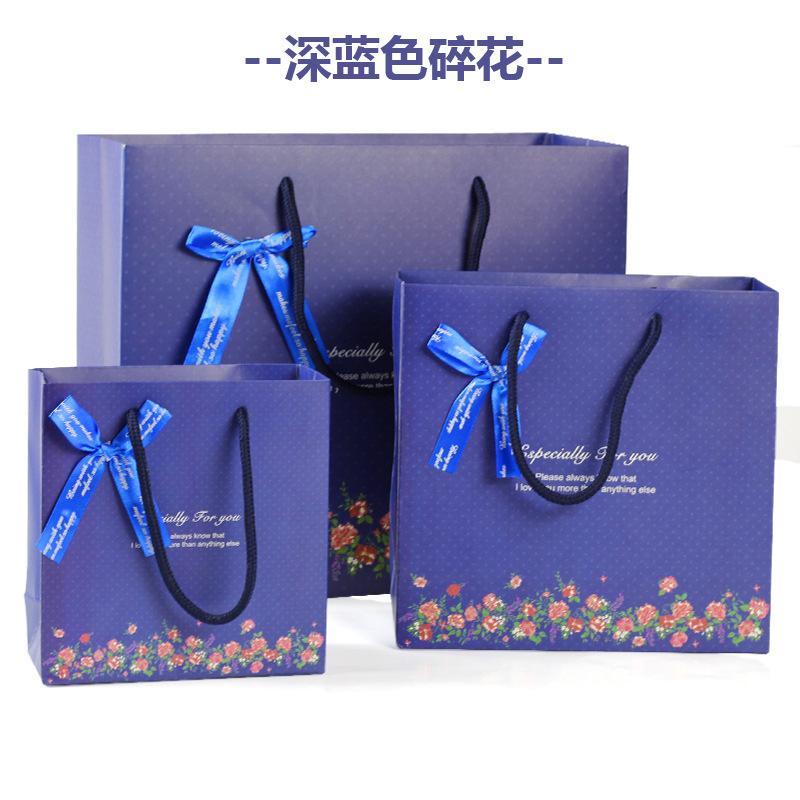 JY Túi giấy đựng quà Tại chỗ bán buôn thời trang túi quà tặng polka dot quà tặng túi giấy túi tote t