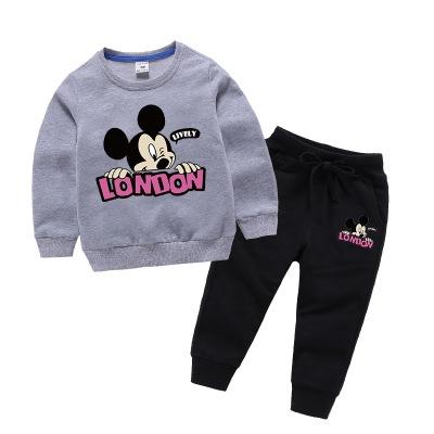 MICHUN Đồ Suits trẻ em Bộ quần áo trẻ em Mi Chun phù hợp với mùa xuân mới phù hợp với nhà máy sản xu