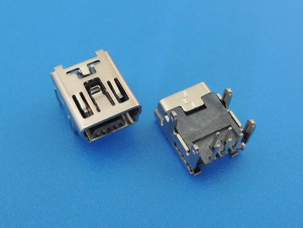 Giắc cắm Pin mở rộng đầu nối bốn chân của MINI USB 5PF DIP