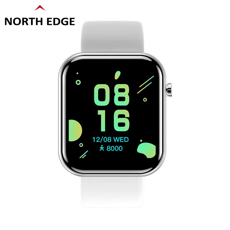 NORTH EDGE Đồng hồ thông minh 1,54 inch đồng hồ thông minh màu lớn màn hình đồng hồ bluetooth bắc nh