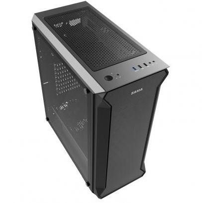 SAMA Thùng CPU Đầu tiên xe tăng 3 khung gầm máy chủ EATX máy tính khung máy tính làm mát bằng nước b