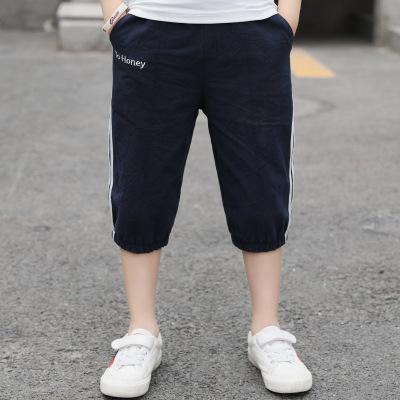 FEIFEIHU Quần trẻ em Quần bé trai và quần cotton bé trai của thương hiệu Quần short cotton phiên bản
