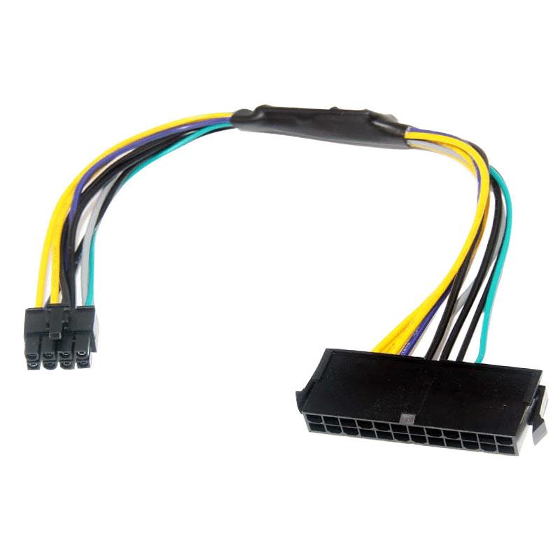 WUWEIXIE Dây nguồn Senqi DELL Optiplex 3020 7020 9020 Dây nguồn 8 pin ATX 24P đến 8P line