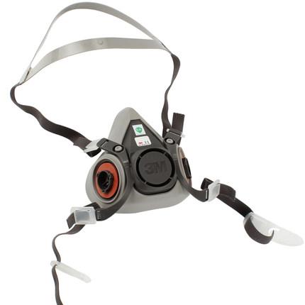 3M Mặt nạ phòng chống khí độc  Mặt nạ phòng độc chống bụi 3M6200 mặt nạ chống bụi công nghiệp cần đư