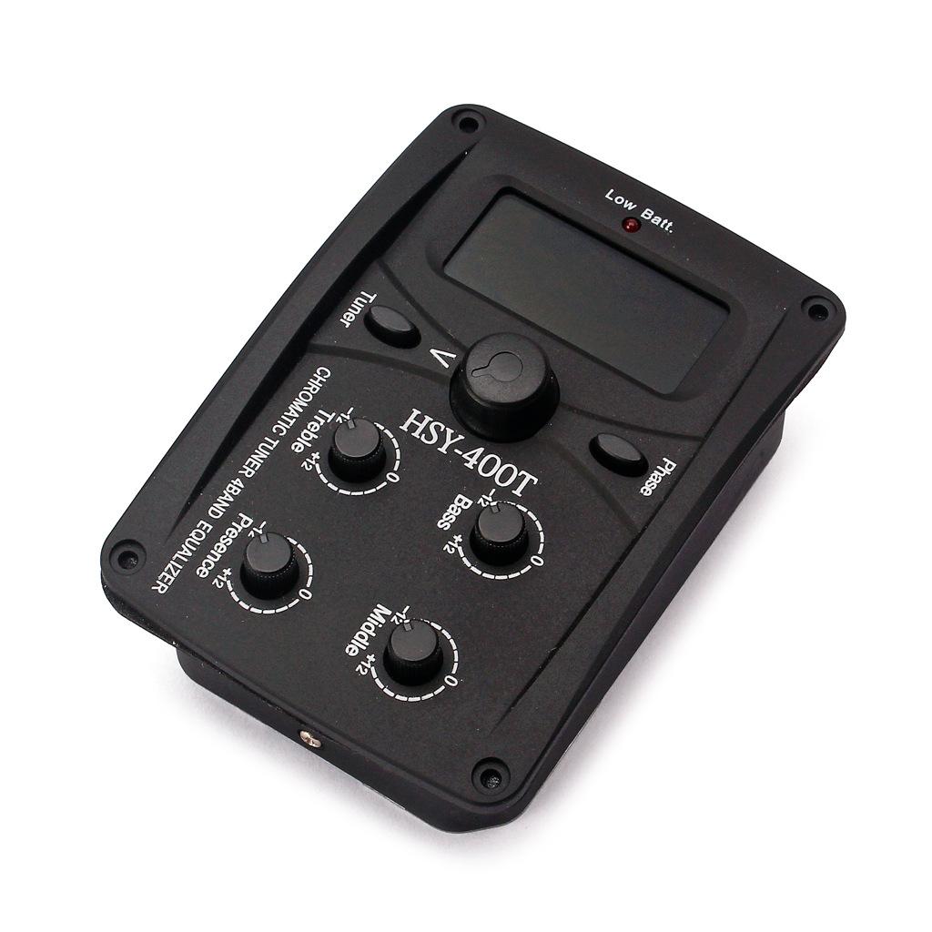 HSY Thiết bị loa Moniter Đàn guitar acoustic trong nước bán tải cổ điển HSY-400T màn hình LCD cân bằ