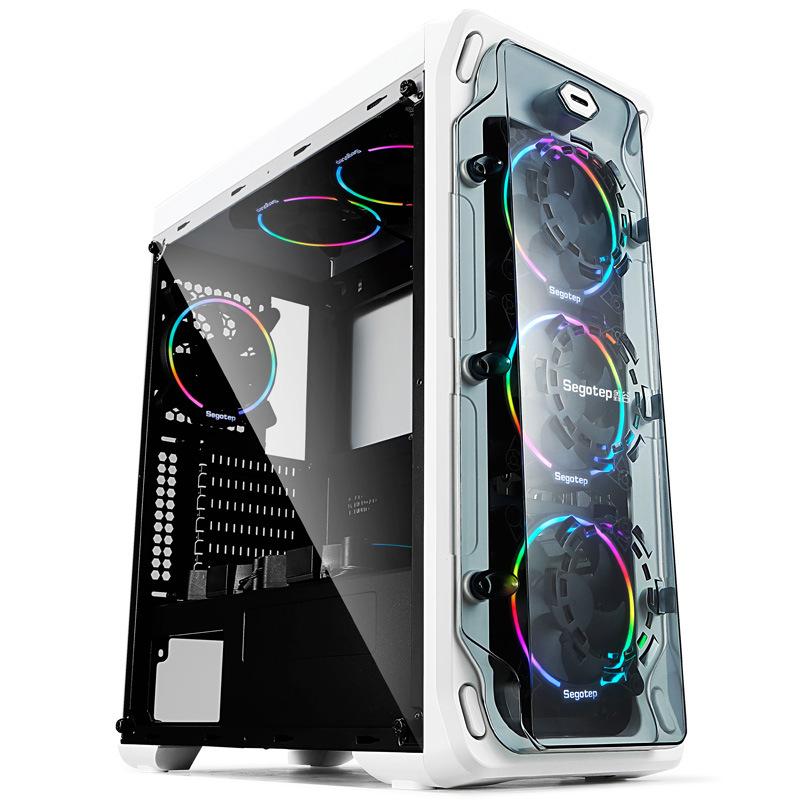 Segotep Thùng CPU Thích hợp cho máy tính để bàn máy tính để bàn Xingu LUX Lax cá tính DIY toàn bộ bê