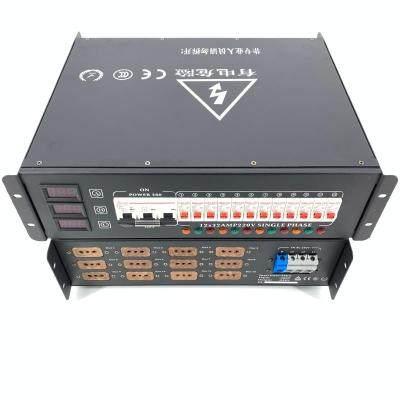EARISE tủ điện  Cung cấp điện 12 kênh hộp trực tiếp ánh sáng sân khấu âm thanh LED phân phối màn hìn