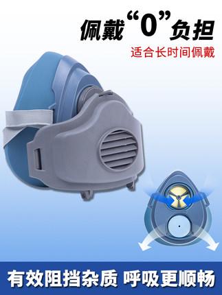 KN95 Mặt nạ phòng chống khí độc Mặt nạ bụi KN95 thoáng khí bụi công nghiệp xưởng đánh bóng bụi than