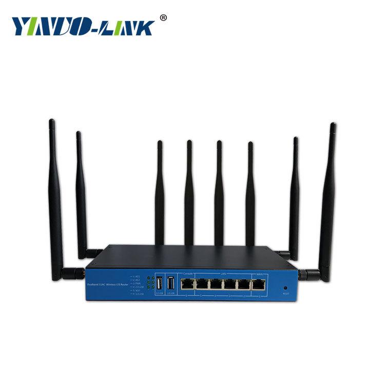 YINUO-LINK Modom Wifi Bộ định tuyến không dây tần số kép YINUO-LINK wifi nhà 1200M qua tường công su