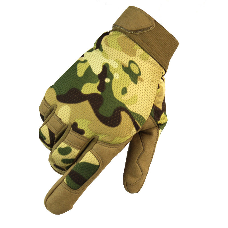 XIONGYING Găng tay bảo hộ A9 ngoài trời mùa thu nhẹ ngụy trang xe máy tập thể dục lao động bảo hiểm