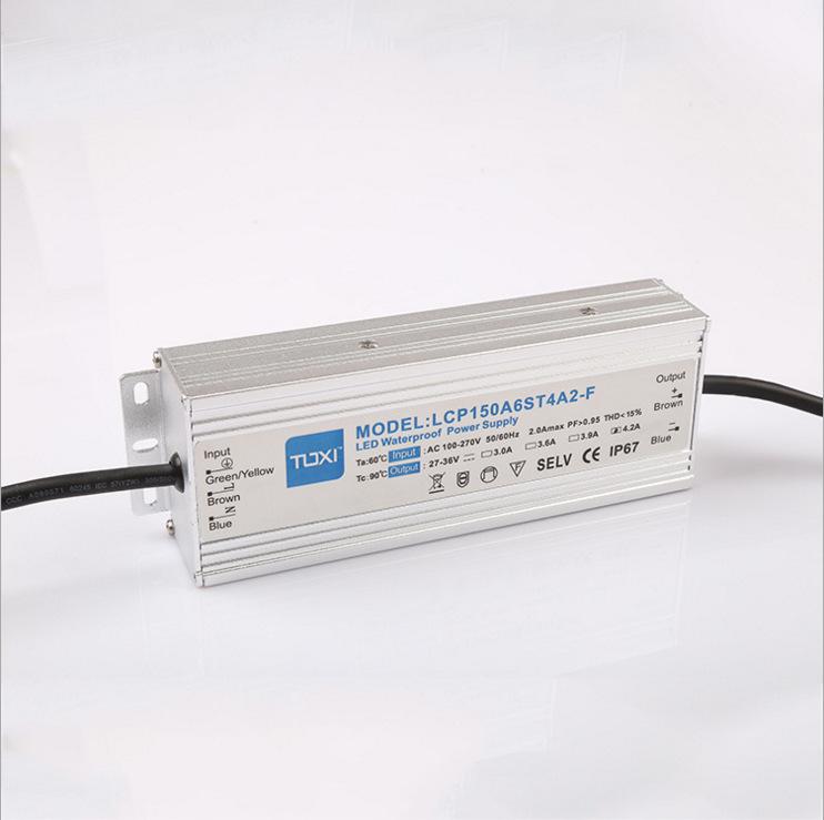 YONGJIAJIE Bộ nguồn không đổi Bảo hành 5 năm chống sét 4KV cung cấp năng lượng chống nước 150W đèn đ