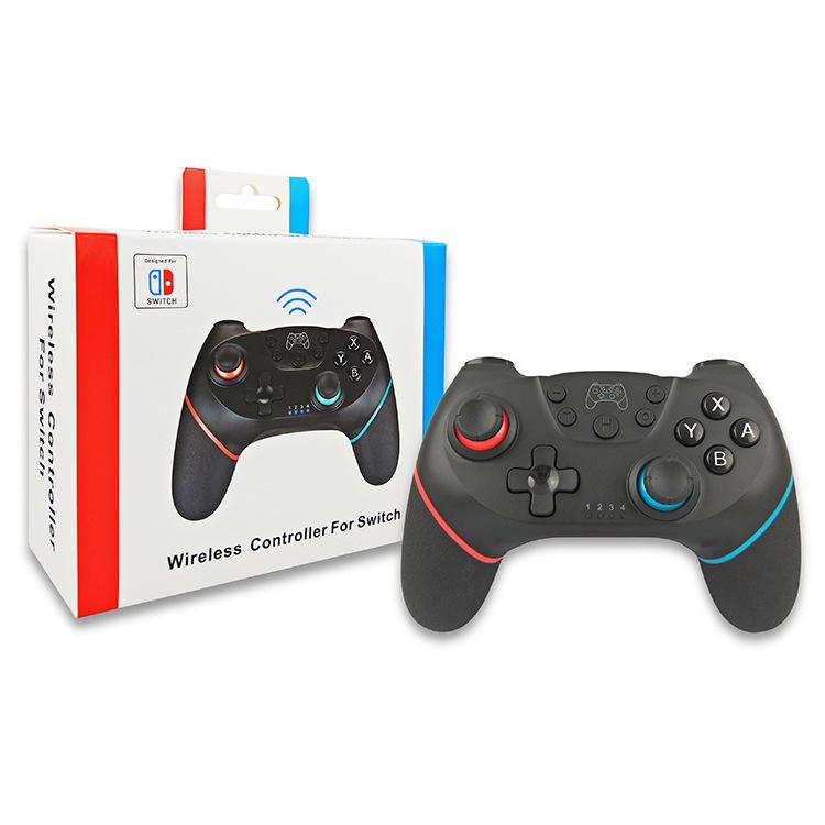 Tay cầm điều khiển trò chơi không dây sáu trục với bộ tăng tốc con quay