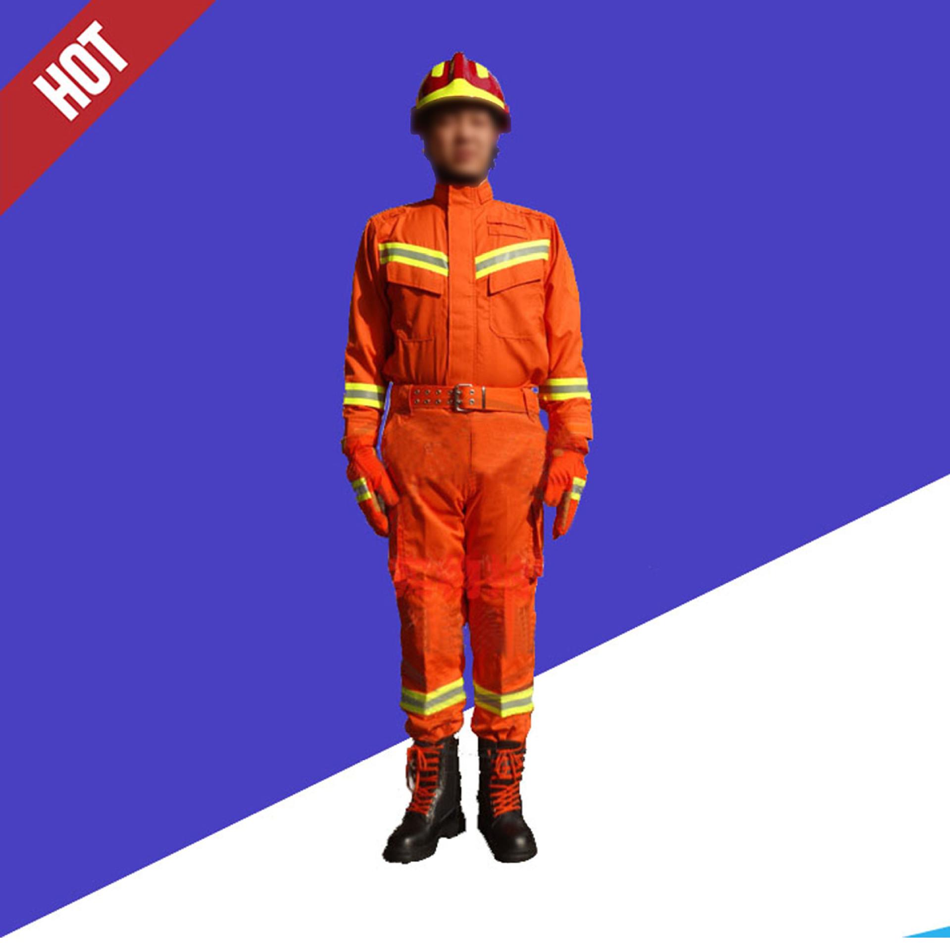 Trang phục chống cháy 97 bộ quần áo chữa cháy chống cháy cách nhiệt phù hợp với lính cứu hỏa chữa ch