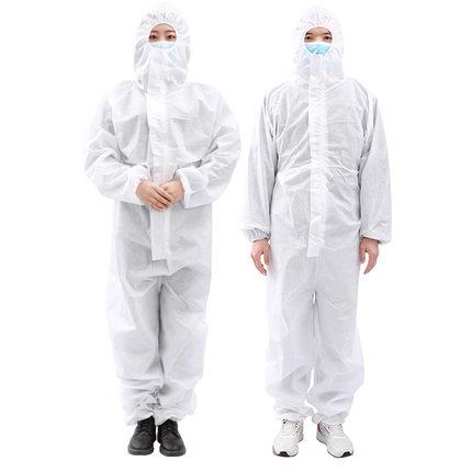 Kefu Trang phục bảo hộ  Quần áo y tế cách ly quần áo bác sĩ đặc biệt dùng một lần virus dính liền y