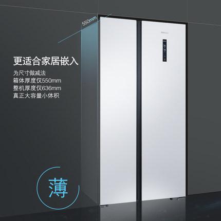 SIEMENS Tủ lạnh / Siemens tủ lạnh công suất lớn được làm lạnh bằng không khí, không có sương giá, KA