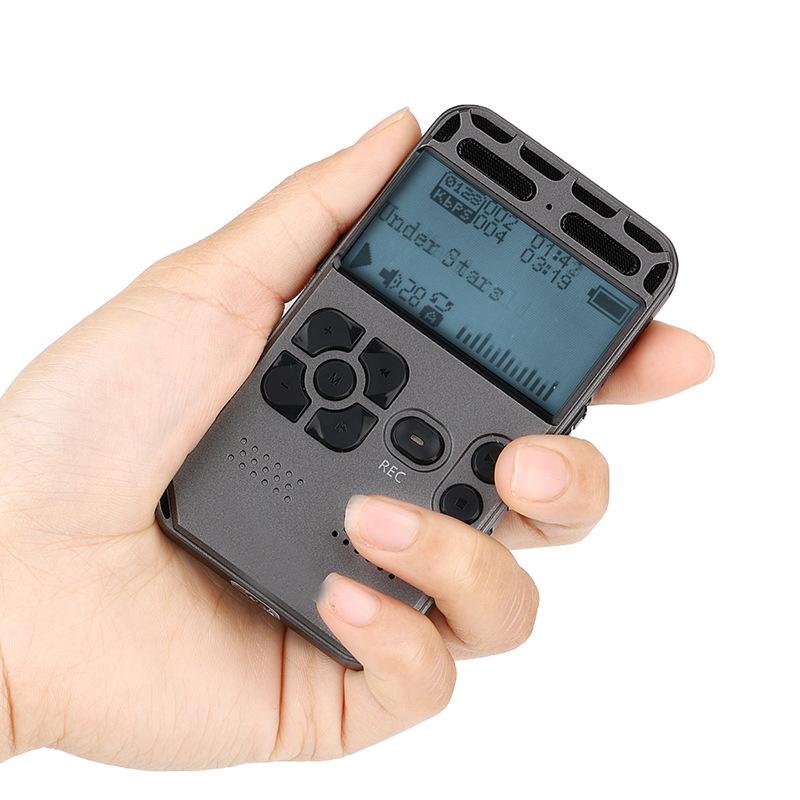 Máy ghi âm Đầu ghi thẻ kim loại HD / 1536kbps