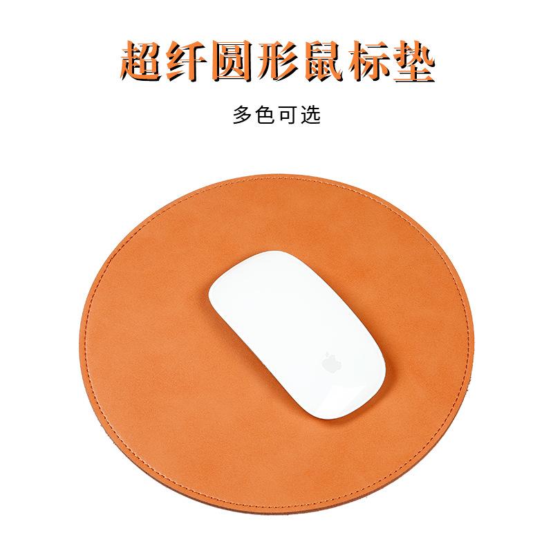 SOYAN Thảm lót chuột Bán buôn chuột pad da chuột sáng tạo tròn chuột pad trò chơi pad doanh nghiệp p