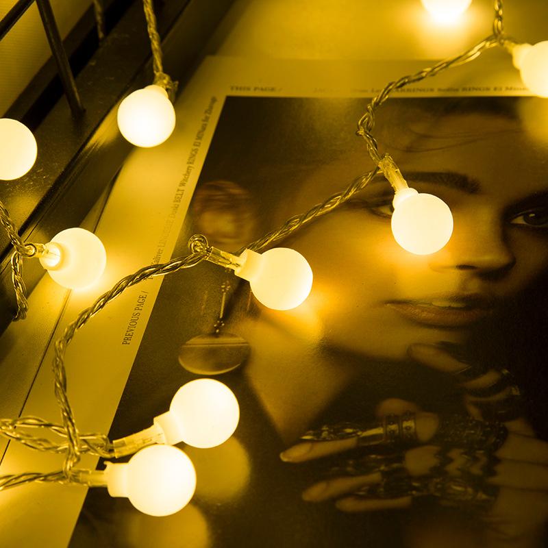 Đèn trang trì 31V Điện áp thấp Châu Âu Chứng nhận quy định bóng Trang trí ngày lễ Ánh sáng ngoài trờ
