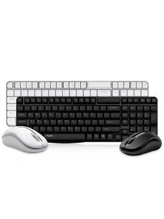 Bộ bàn phím + chuột Bàn phím và chuột không dây có thể sạc lại được của bàn phím máy tính xách tay K