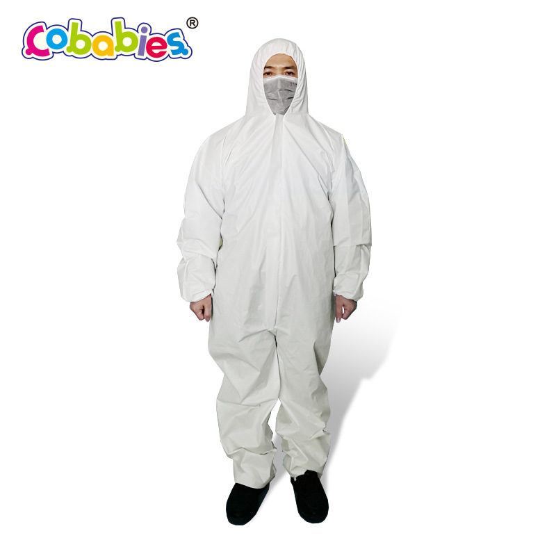 Cobabies Trang phục bảo hộ Phúc Kiến Nhà sản xuất được chỉ định Nhà sản xuất Quần áo y tế cách ly Xi