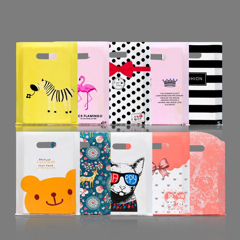 Túi giấy đựng quà Túi nhựa bao bì túi nam và nữ quần áo trẻ em quần áo cửa hàng quần áo túi mua sắm